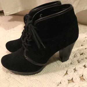👢💄 Giani Bernini Black Suede Booties  💄👢